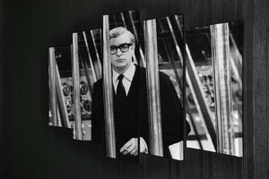 Michael Caine 1967 5 Split Panel Canvas  - Canvas Art Rocks - 2