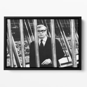 Michael Caine 1967 Floating Framed Canvas
