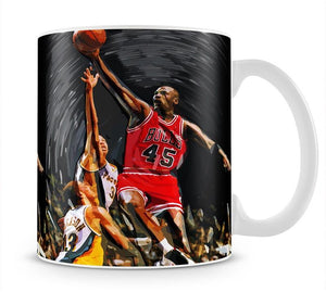 Michael Jordan Mug - Canvas Art Rocks - 1