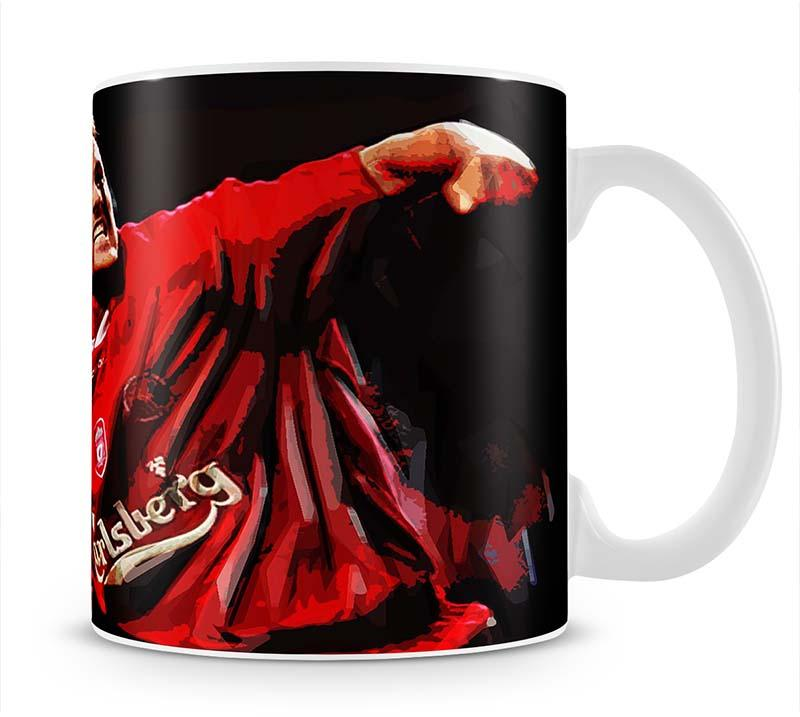 Michael Owen Liverpool Mug - Canvas Art Rocks - 1
