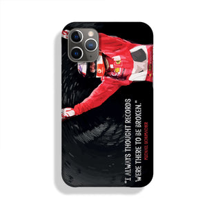 Michael Schumacher Records Phone Case iPhone 11 Pro Max