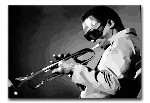 Miles Davis Jazz Maestro Print - Canvas Art Rocks - 1