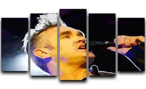 Morrissey 5 Split Panel Canvas  - Canvas Art Rocks - 1