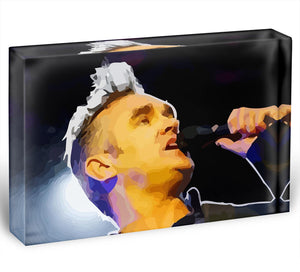 Morrissey Acrylic Block - Canvas Art Rocks - 1