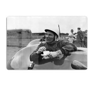 Motor racing driver Stirling Moss HD Metal Print