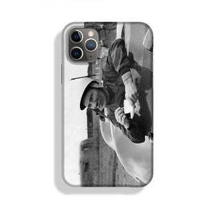 Motor racing driver Stirling Moss Phone Case iPhone 11 Pro Max