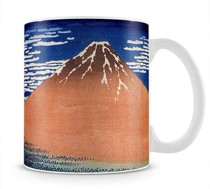 Mount Fuji by Hokusai Mug - Canvas Art Rocks - 1