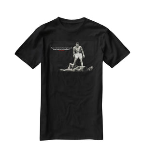Muhammad Ali Dream Of Beating Me T-Shirt - Canvas Art Rocks - 1