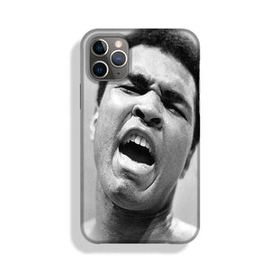 Muhammad Ali shouts Phone Case iPhone 11 Pro Max