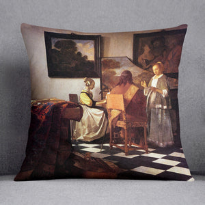 Musical Trio by Vermeer Cushion