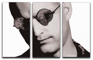 Natural Born Killers 3 Split Panel Canvas Print - Canvas Art Rocks - 4