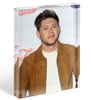 Niall Horan of One Direction Acrylic Block - Canvas Art Rocks - 1