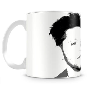 Niall Horan of One Direction Black and White Pop Art Mug - Canvas Art Rocks - 2