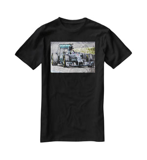 Nico Rosberg Formula 1 T-Shirt - Canvas Art Rocks - 1