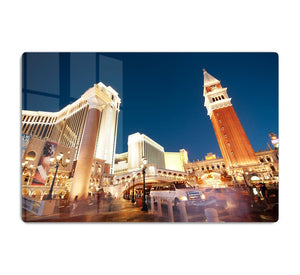 Night scenes from Las Vegas HD Metal Print