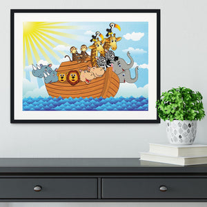 Noah Ark Framed Print - Canvas Art Rocks - 1