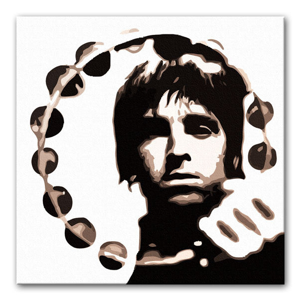 Noel Gallagher Tambourine Canvas Print or Poster