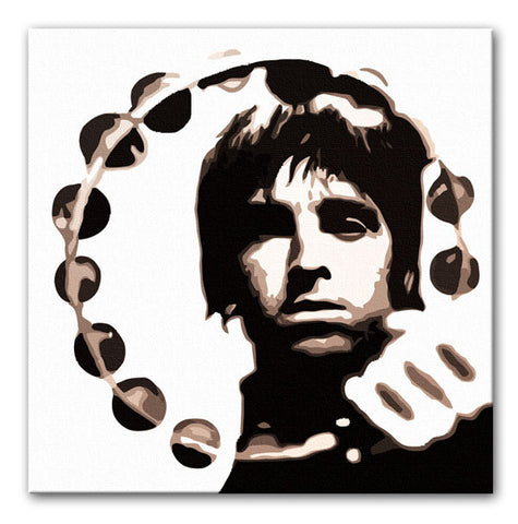 Noel Gallagher Tambourine Print - They'll Love Wall Art - 1