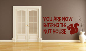 Nuthouse Wall Sticker - Canvas Art Rocks - 1