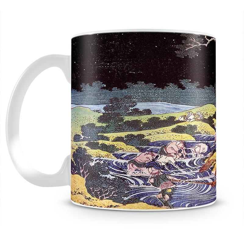 Ocean landscape by Hokusai Mug - Canvas Art Rocks - 2