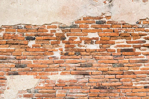 Old brick wall texture Wall Mural Wallpaper - Canvas Art Rocks - 1