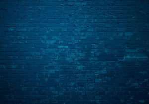 Old dark blue Wall Mural Wallpaper - Canvas Art Rocks - 1