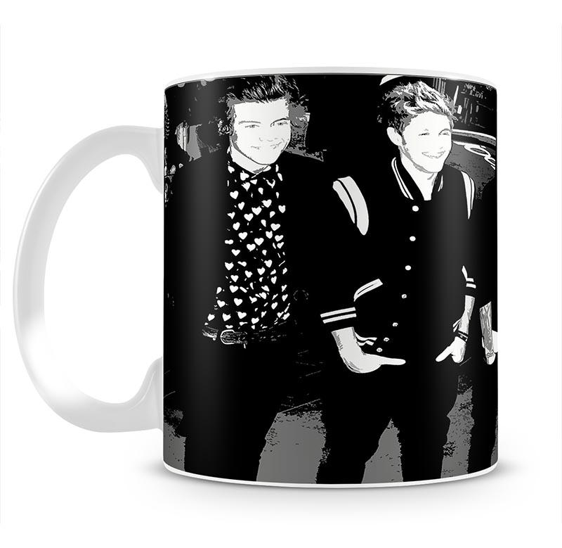 One Direction on the red carpet Pop Art Mug - Canvas Art Rocks - 2