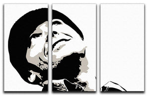 One Flew Over The Cuckoos Nest 3 Split Panel Canvas Print - Canvas Art Rocks - 4