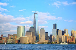 One World Trade Center Wall Mural Wallpaper - Canvas Art Rocks - 1