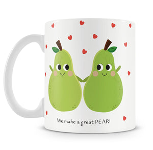 Personalised Great Pear Mug