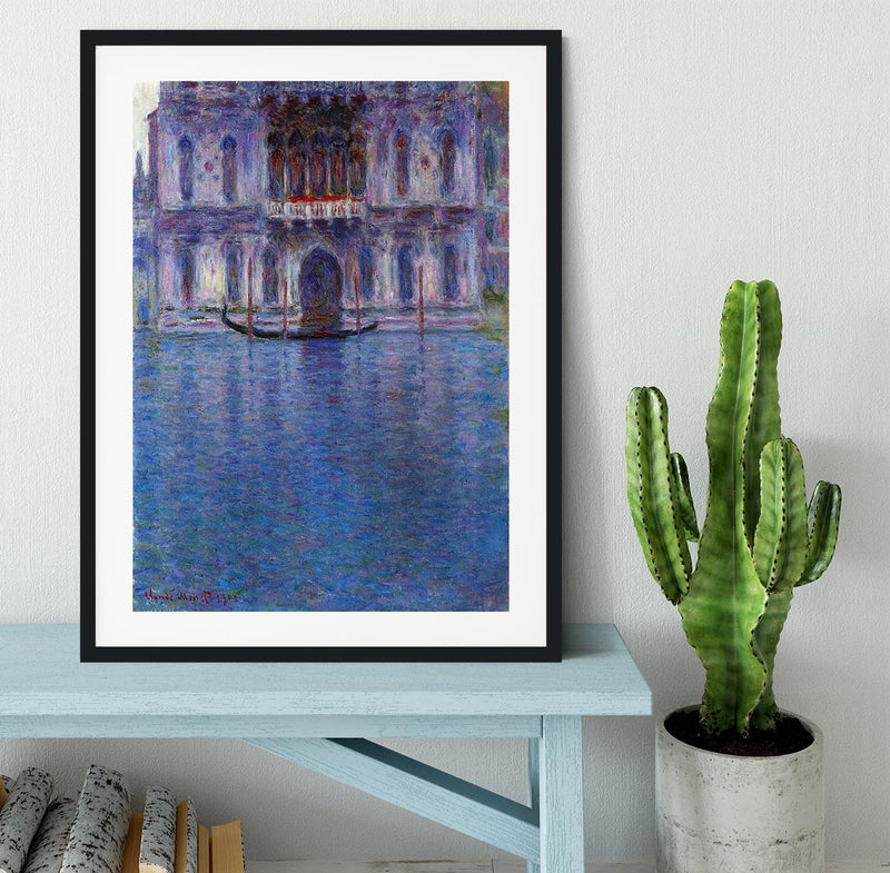 Palazzo 1 by Monet Framed Print - Canvas Art Rocks - 1