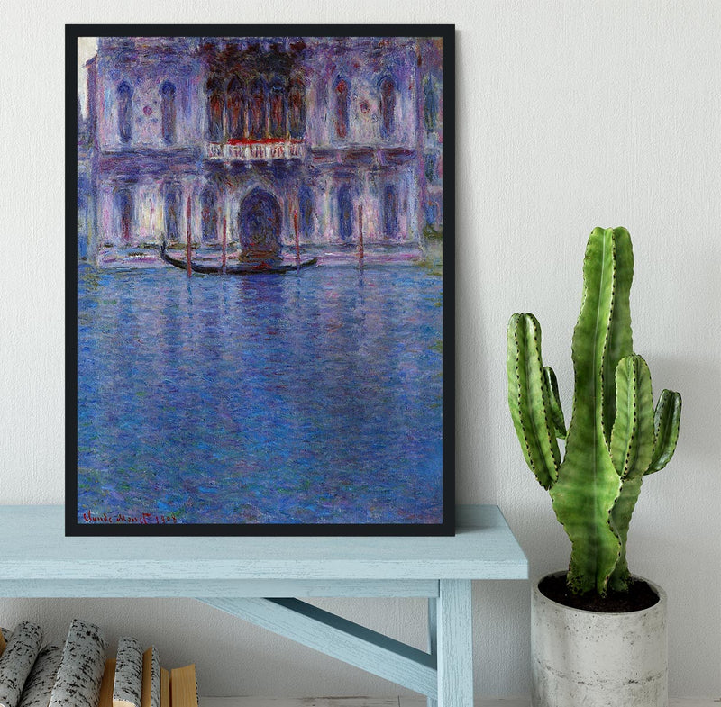Palazzo 1 by Monet Framed Print - Canvas Art Rocks - 2