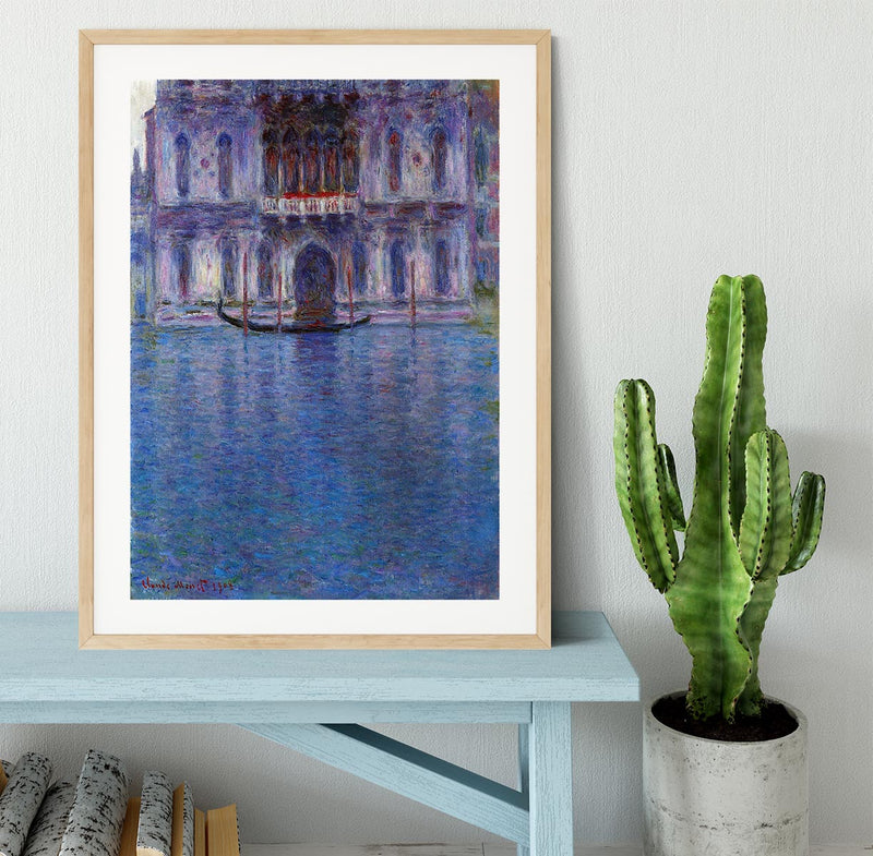 Palazzo 1 by Monet Framed Print - Canvas Art Rocks - 3
