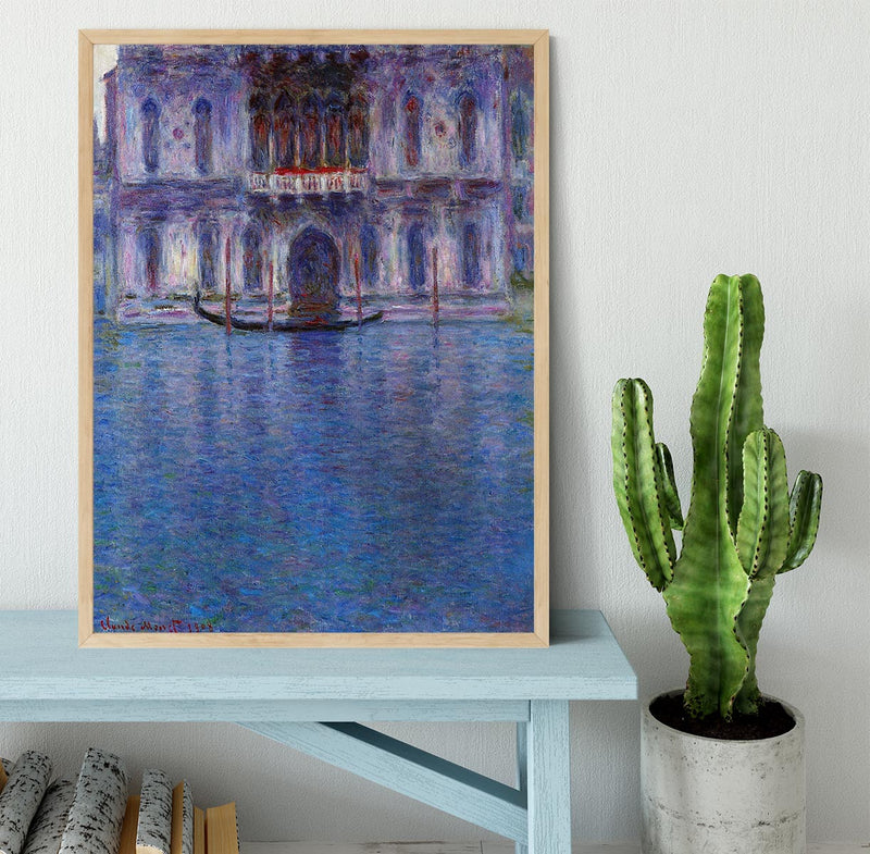 Palazzo 1 by Monet Framed Print - Canvas Art Rocks - 4
