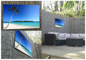 Paradise Island Metal Print - Canvas Art Rocks - 2