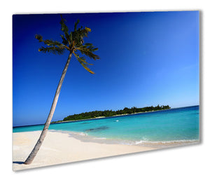 Paradise Island Metal Print - Canvas Art Rocks - 1