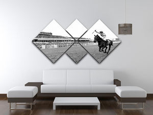 Party Politics romps home in the Grand National 4 Square Multi Panel Canvas - Canvas Art Rocks - 3
