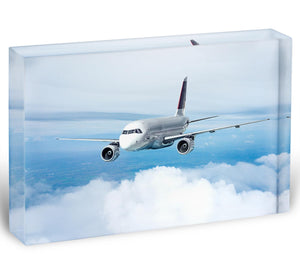 Passenger Airliner Acrylic Block - Canvas Art Rocks - 1