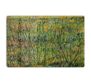 Pasture in Bloom by Van Gogh HD Metal Print
