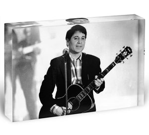 Paul Simon Acrylic Block - Canvas Art Rocks - 1