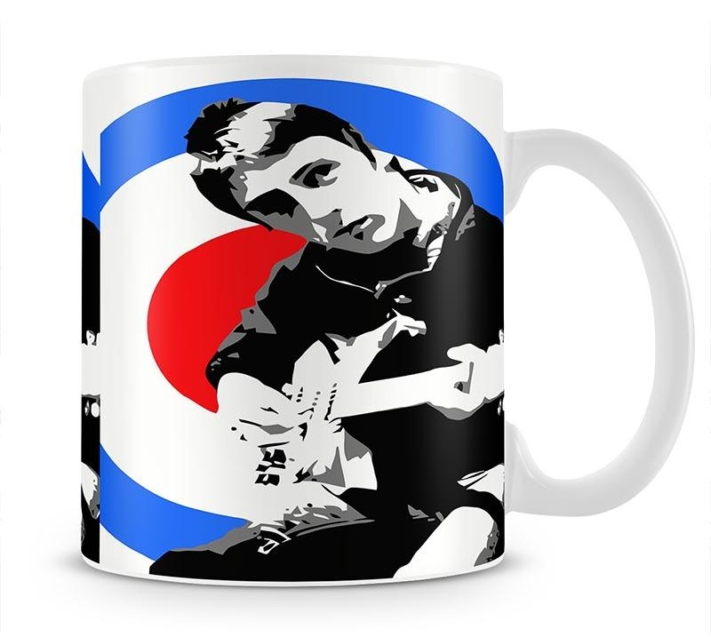 Paul Weller Mod Target Mug - Canvas Art Rocks - 1