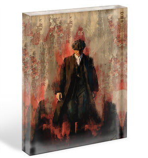Peaky Blinders Acrylic Block - Canvas Art Rocks - 1