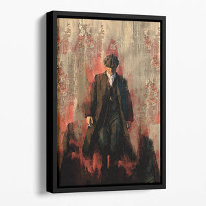 Peaky Blinders Floating Framed Canvas
