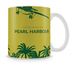 Pearl Habour Minimal Movie Mug - Canvas Art Rocks - 1