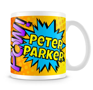Personalised Mug - Comic Adventures