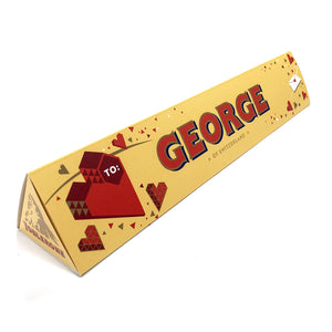 Personalised Valentine's Day Chocolate Toblerone b