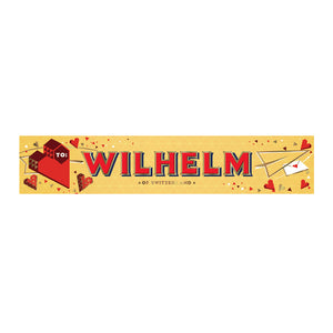 Personalised Valentine's Day Chocolate Toblerone c