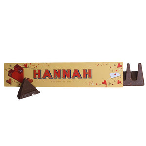 Personalised Valentine's Day Chocolate Toblerone f