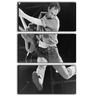 Pete Townshend of The Who 3 Split Panel Canvas Print - Canvas Art Rocks - 1