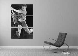 Pete Townshend of The Who 3 Split Panel Canvas Print - Canvas Art Rocks - 2